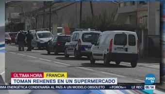 Reportan toma de rehenes en supermercado de Francia; hay un muerto