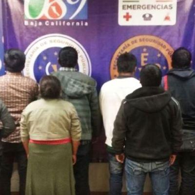 Rescatan en Mexicali a 10 migrantes secuestrados; buscaban cruzar a EU