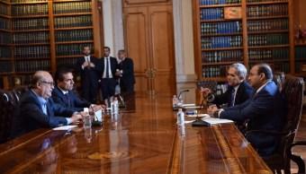 Navarrete Prida se reúne con Mancera y gobernadores perredistas