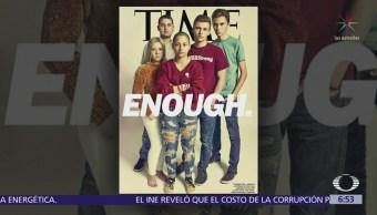 Revista TIME dedica portada a los alumnos de Parkland