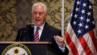 Tillerson cancela agenda del día en África por enfermedad