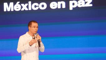 Ricardo Anaya participa en la Convención Bancaria, en Acapulco, Guerrero