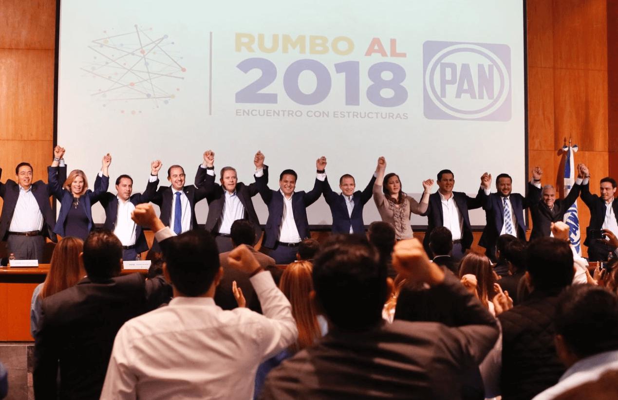 Se reúne Ricardo Anaya con ex presidentes chilenos
