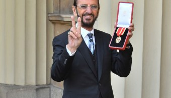 Ringo Starr recibe el título de Caballero del Imperio Británico