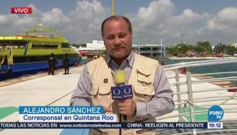 Instalan Arcos Seguridad Terminales Marítimas Quintana Roo