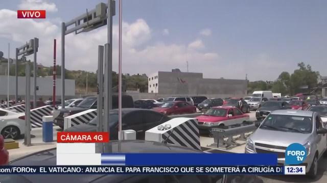 Salen 90 autos por minuto en autopista México-Cuernavaca