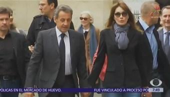 Sarkozy es detenido por investigación sobre financiamiento de campaña electoral en 2007