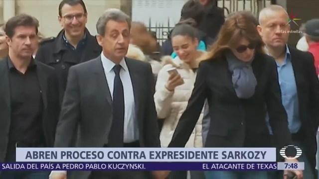 Sarkozy fue imputado por supuesto financiamiento ilegal de su campaña en 2007