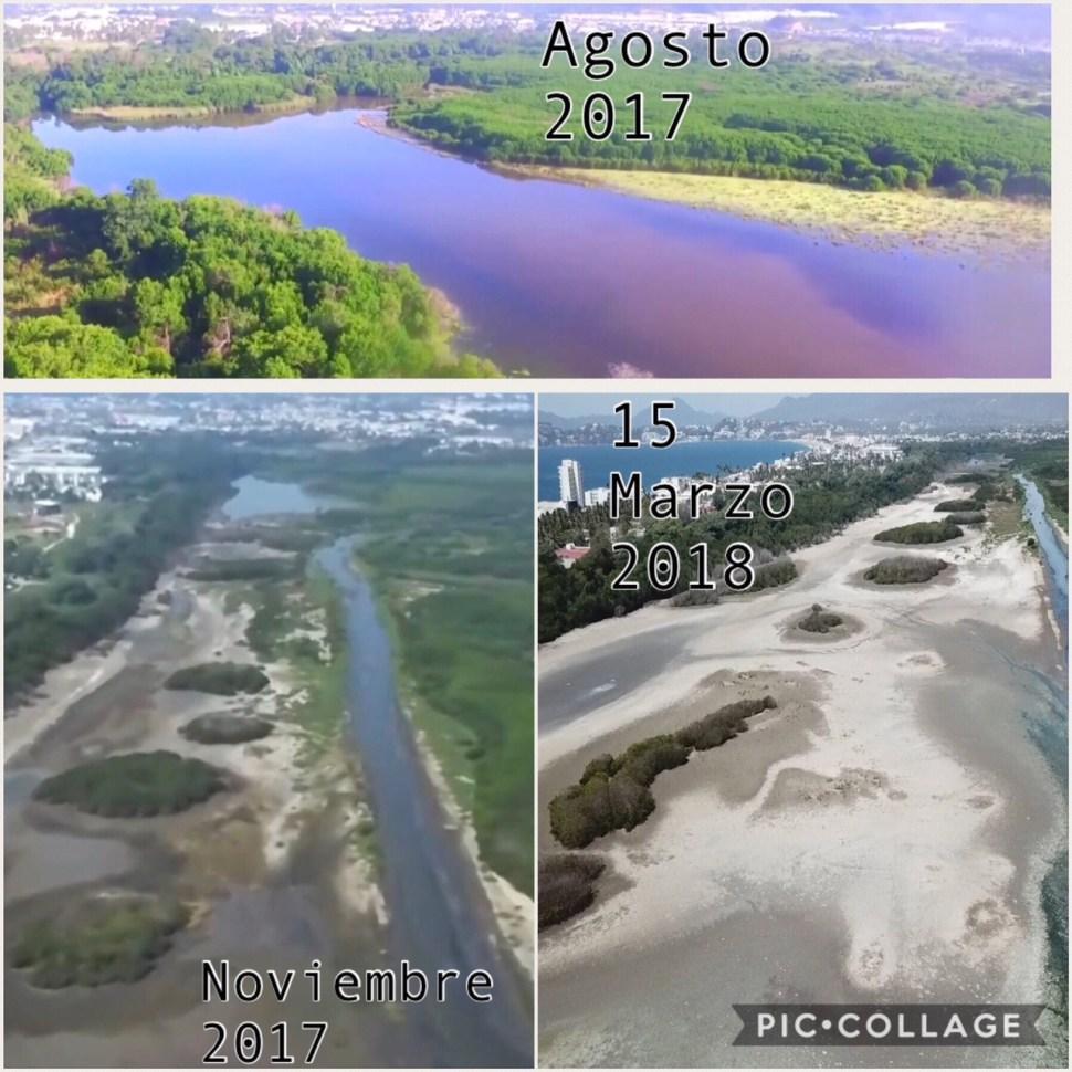 Se extingue la Laguna Valle de las Garzas en Manzanillo
