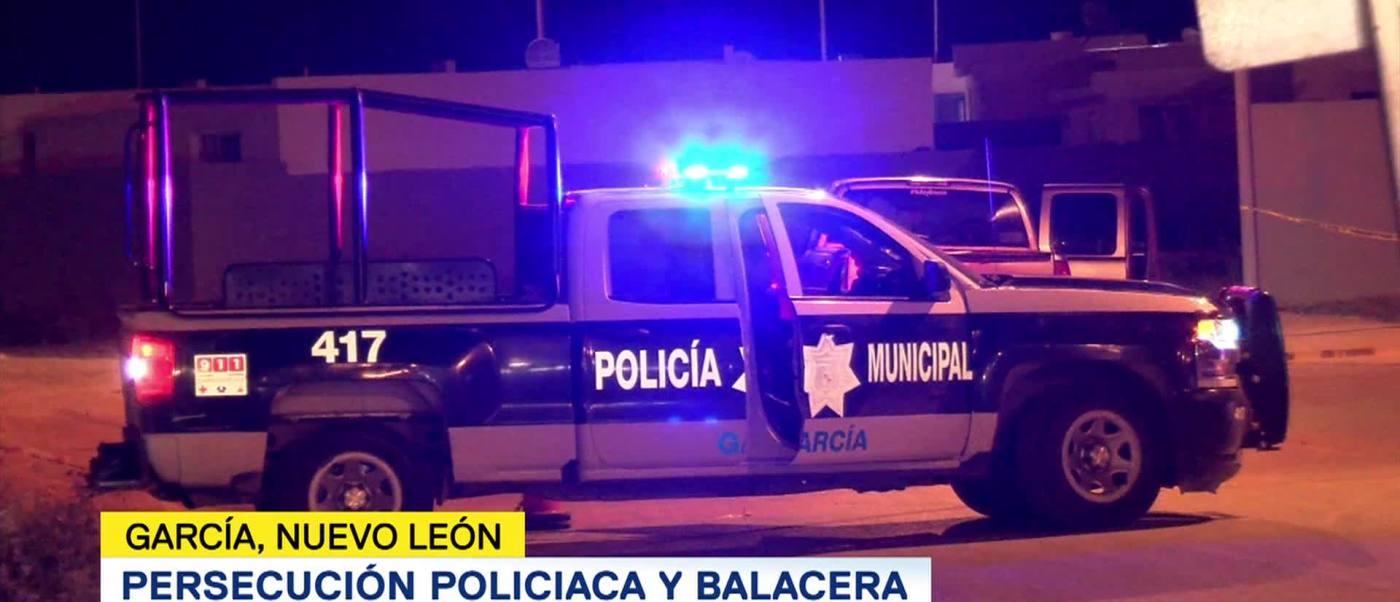 Registra Balacera García Nuevo León