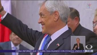 Sebastián Piñera asume Presidencia de Chile por segunda vez