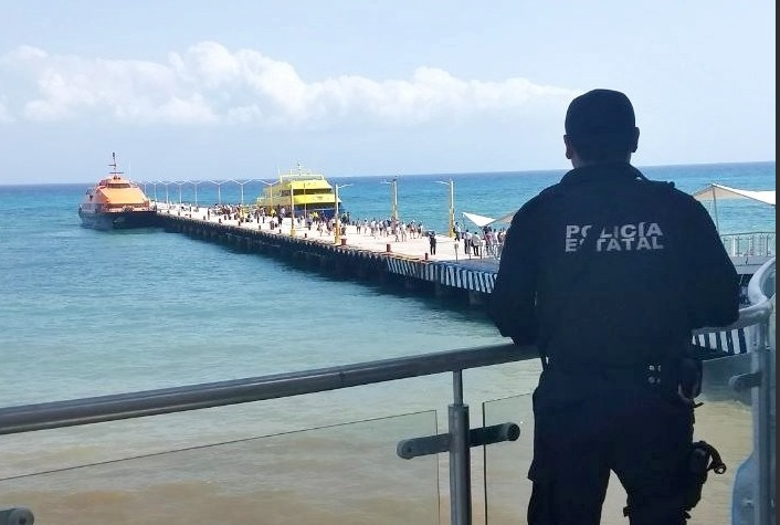 PGR: Explosión en Ferry en Playa del Carmen sí fue intencional