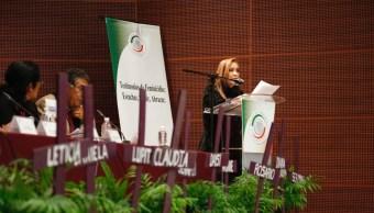 impunidad principal elemento aumento feminicidios senadora