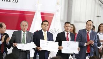 Aureoles garantiza tranquilidad para el proceso electoral en Michoacán