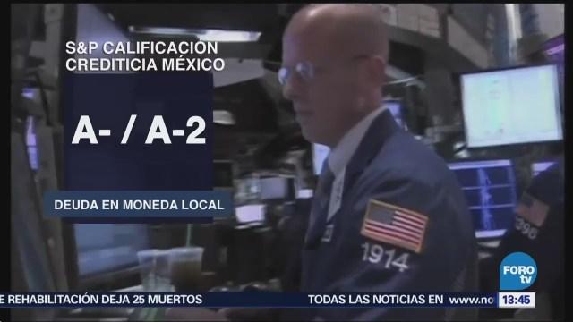 S&P Ratifica Calificación Crediticia México