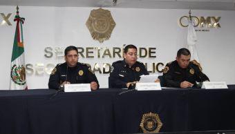 detiene sspcdmx personas delictivos policia seguridad
