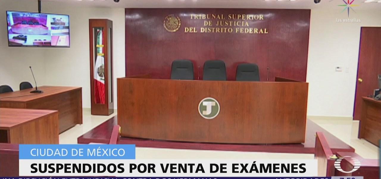 Suspenden a 3 funcionarios por vender exámenes para desSuspenden a 3 funcionarios por vender exámenes para designar jueces de Distritoignar jueces de Distrito
