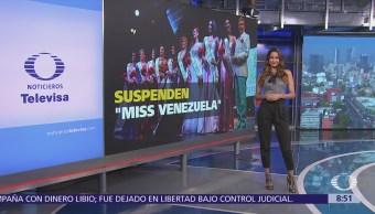 Suspenden el certamen de 'Miss Venezuela'