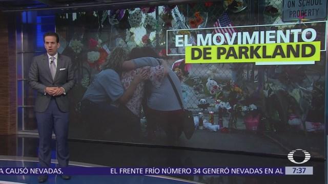 Tiroteo en Parkland desata movimiento nacional contra posesión de armas en Estados Unidos