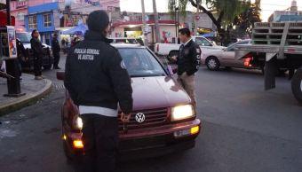 Detienen a 83 personas en Toluca tras operativo