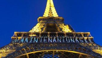 ahora actuamos mensaje torre eiffel dia internacional mujer