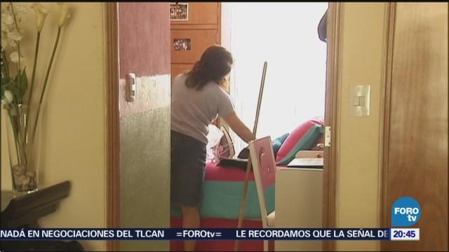 Trabajadoras del hogar piden que se reconozcan sus derechos laborales