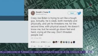 Trump arremete contra Joe Biden en Twitter