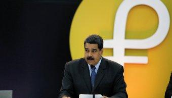 Trump impone sanciones petro y cuatro altos cargos Venezuela