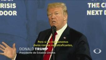 Trump propine pena de muerte para traficantes de fentanilo