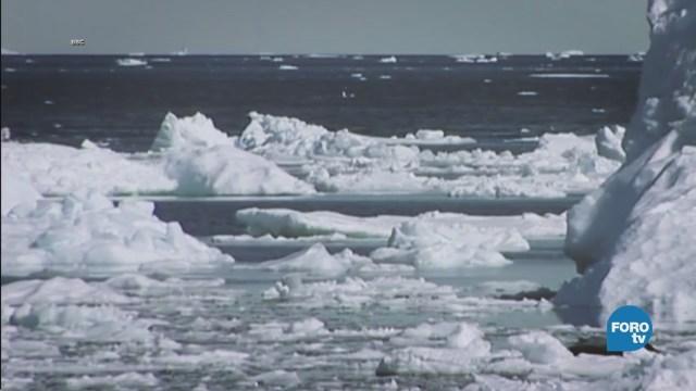 UNAM crea sistema para investigar comportamiento de los icebergs