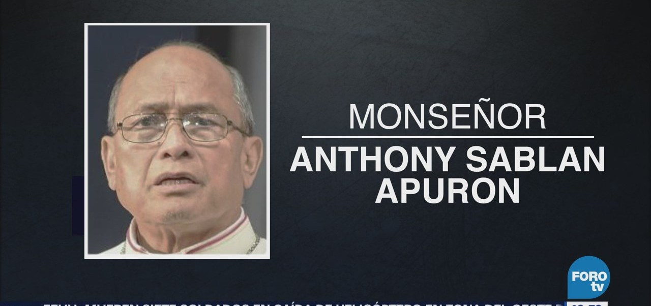 Vaticano condena al arzobispo Anthony Sablan, acusado de abuso sexual