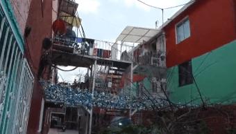 Pasajes ocultos conectan vecindades de Tepito donde operan narcomenudistas