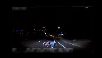 Difunden video accidente donde vehículo autónomo atropella mujer