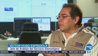 Víctor Hugo Espíndola Explica Posible Predecir Sismos (Parte 1)