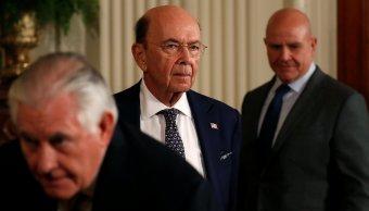 Wilbur Ross: Estados Unidos considera quitar aranceles al acero a ciertos países
