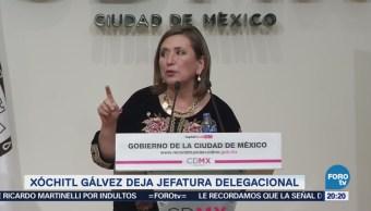 Xóchitl Gálvez buscará un lugar en el Senado por el PRD