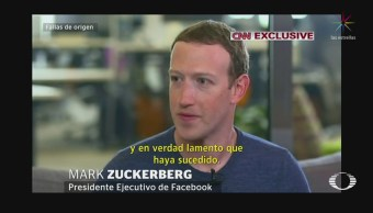 Zuckerberg reconoce que Facebook falló a sus usuarios