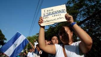 Al menos 60 jóvenes continúan desaparecidos tras protestas en Nicaragua