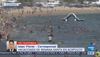 Alta Ocupación Hotelera Semana Santa Acapulco