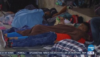Migrantes Permanecen Varados Hermosillo Sonora Caravana