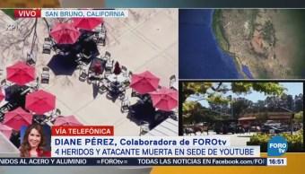 4 Heridos Presunta Atacante Muerta Sede Youtube
