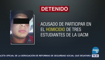 Detienen Presunto Homicida Estudiantes Cdmx