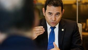 Surge tercera acusación de corrupción contra presidente de Guatemala