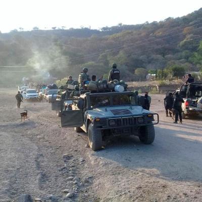 Policía Comunitaria reporta supuesta muerte de 'El Tequilero'