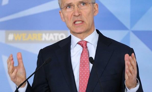 OTAN dice que la comunidad internacional 'no podía quedarse parada'