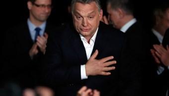 Primer ministro Viktor Orban Orban gana tercer mandato en Hungría