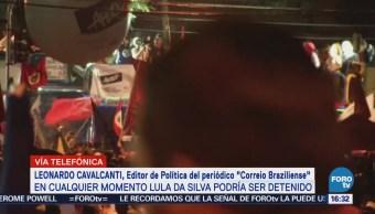 Abogados Negocian Entrega Lula Policía Brasil Leonardo Cavalcanti, Editor Del Periódico Correio Braziliense