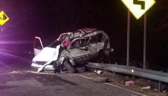 accidente deja nueve muertos en autopista tecoman colima
