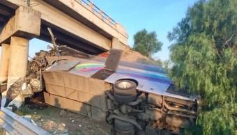 accidente deja dos muertos en la autopista tulancingo piramides