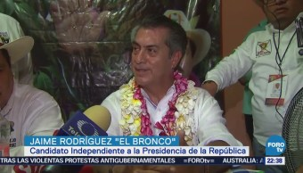 Actividades Jaime Rodríguez Bronco Chiapas Jalisco